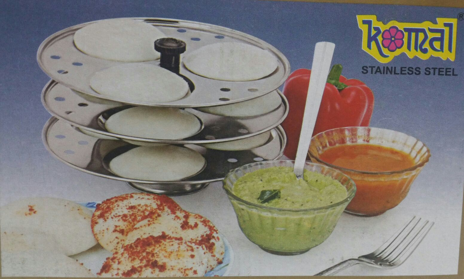 SS Idli Stand 3 Plate (9 Idli) Normal Size Stand Only