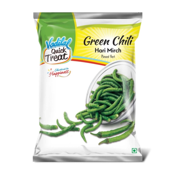 Vadilal : Green Chilli Frozen [ 312 gm ]