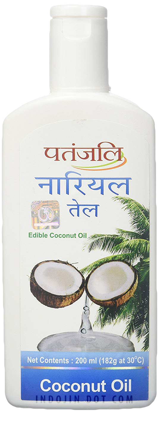Patanjali : Coconut Oil Jar [ 200 ml ] - Click Image to Close