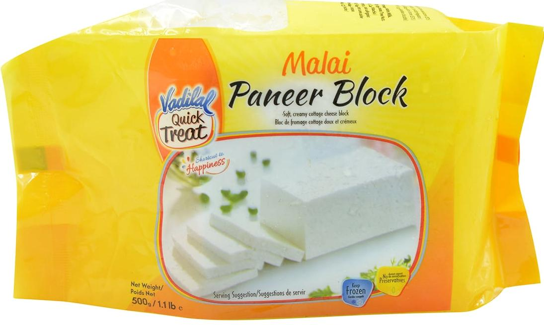 Vadilal : Paneer Frozen Block [ 500 gm ]