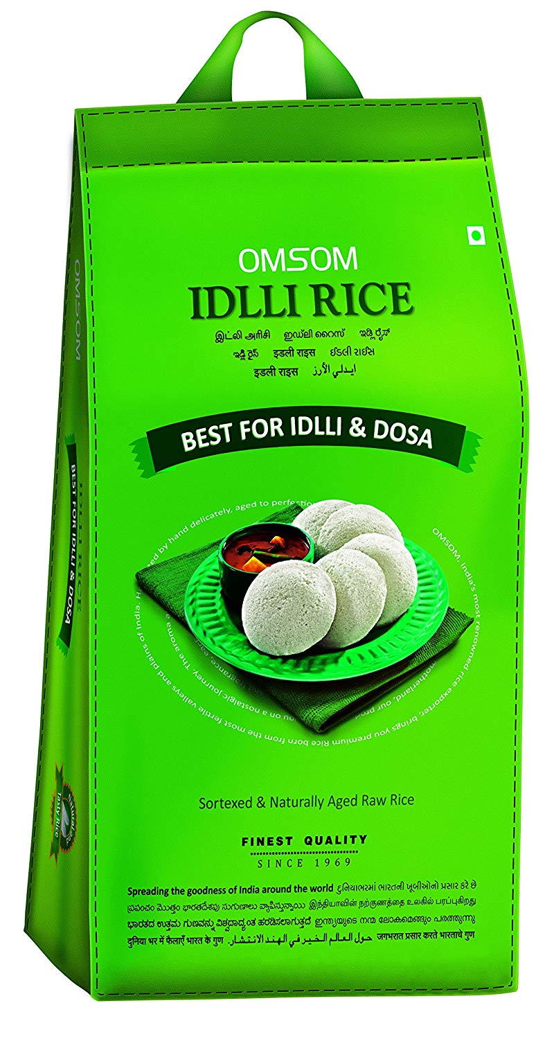Omsum : Special Idli-Dosa Rice [ 5 kg ]