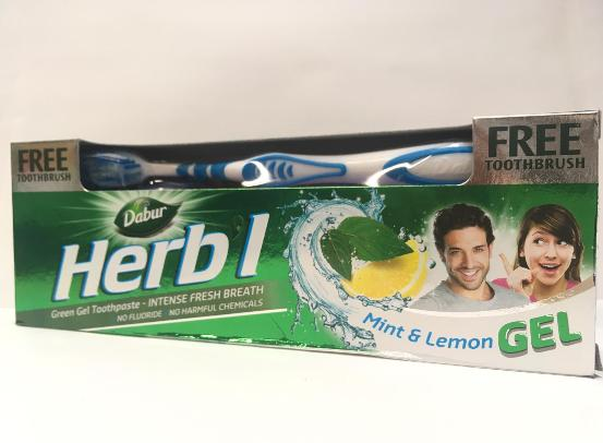 Dabur Herbal Tooth Green Gel 150g