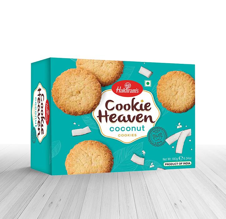 Haldiram`s Coconut Cookies 180gm
