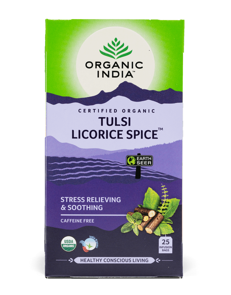 Organic India Tulsi Licorice Spice Tea Bag