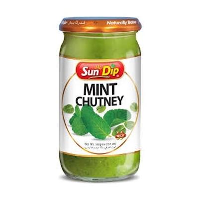 Sun Dip : Mint Chutney (Pudina) [ 340 gm ]