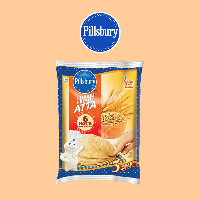 Pillsbury : Chakki Fresh Atta ( Stone Wheat ) [ 1 kg ]