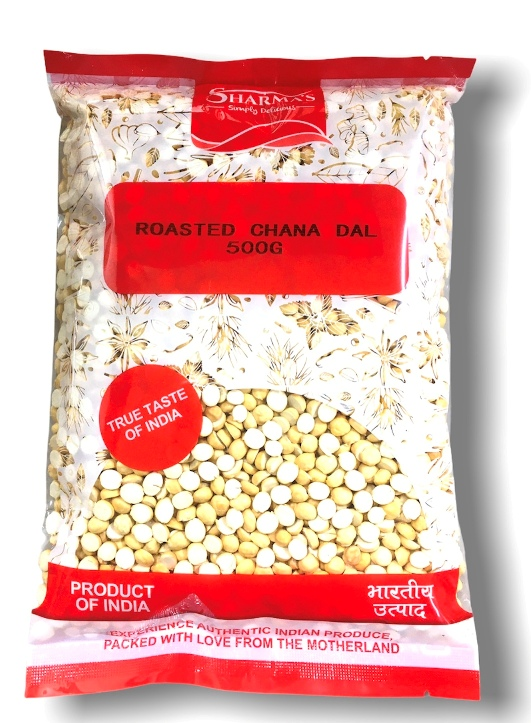 SHARMA'S Roasted Chana Dal ( Dalia Split ) 500 gm