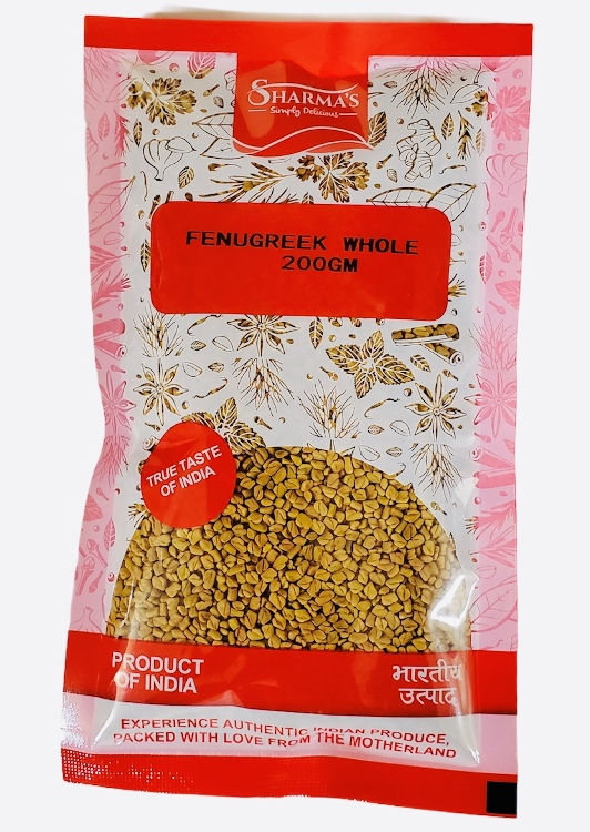 SHARMA'S Fenugreek Whole (Methi Dana) 200g