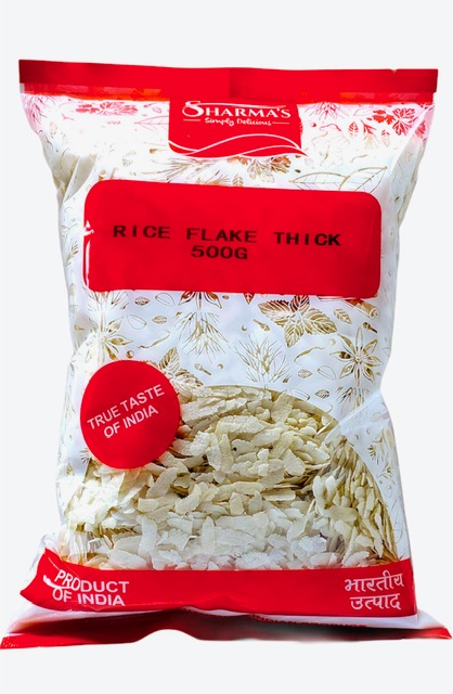 SHARMA'S Rice Flake (Thick Poha) 500 gm
