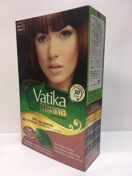Vatika Henna Hair Color Black Brown10gX6