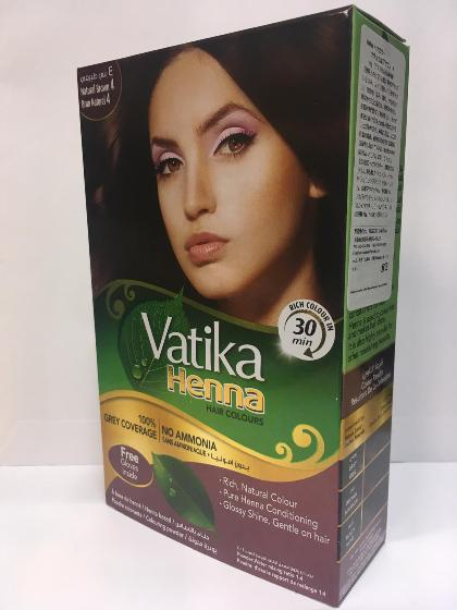 Vatika Henna Hair Color Burgundy 10gX6