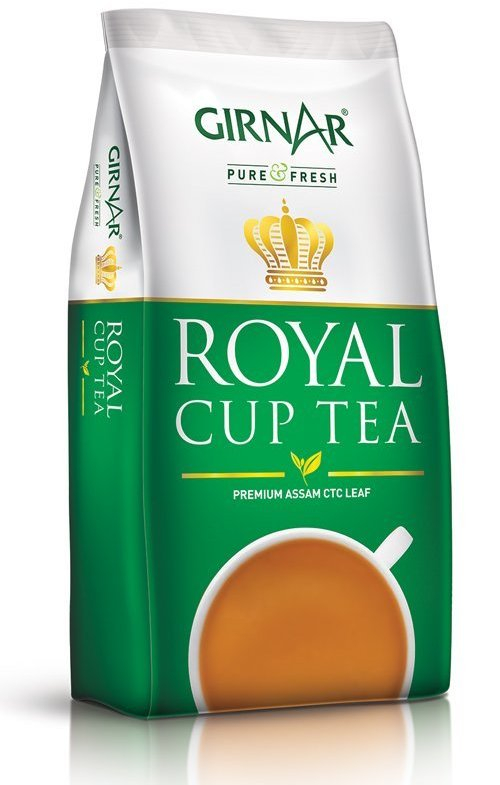 Girnar Royal Cup Loose Tea 250g (Pouch)