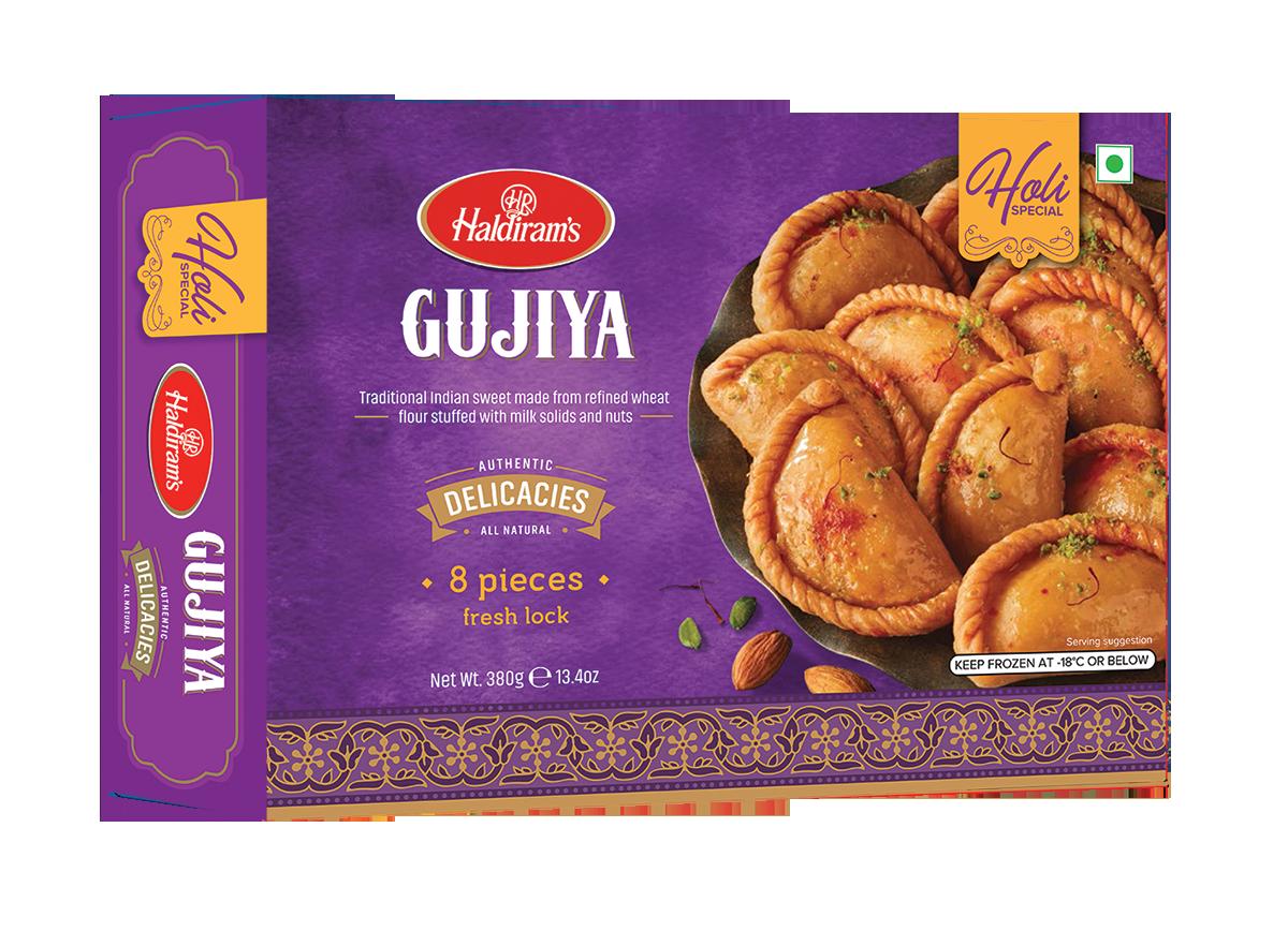Haldiram Gujiya 8 pieces Delivery only with frozen parcel
