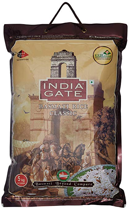 Classic India Gate Basmati Rice 5kg