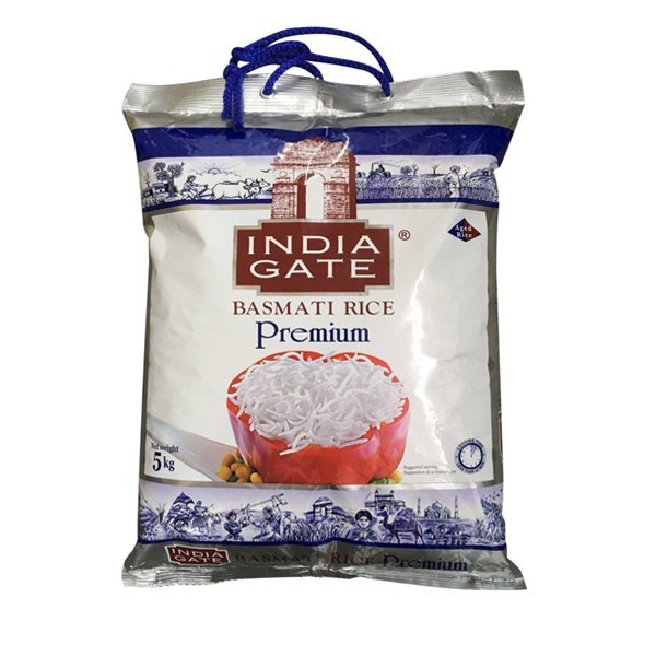 Premium India Gate Basmati Rice 5kg