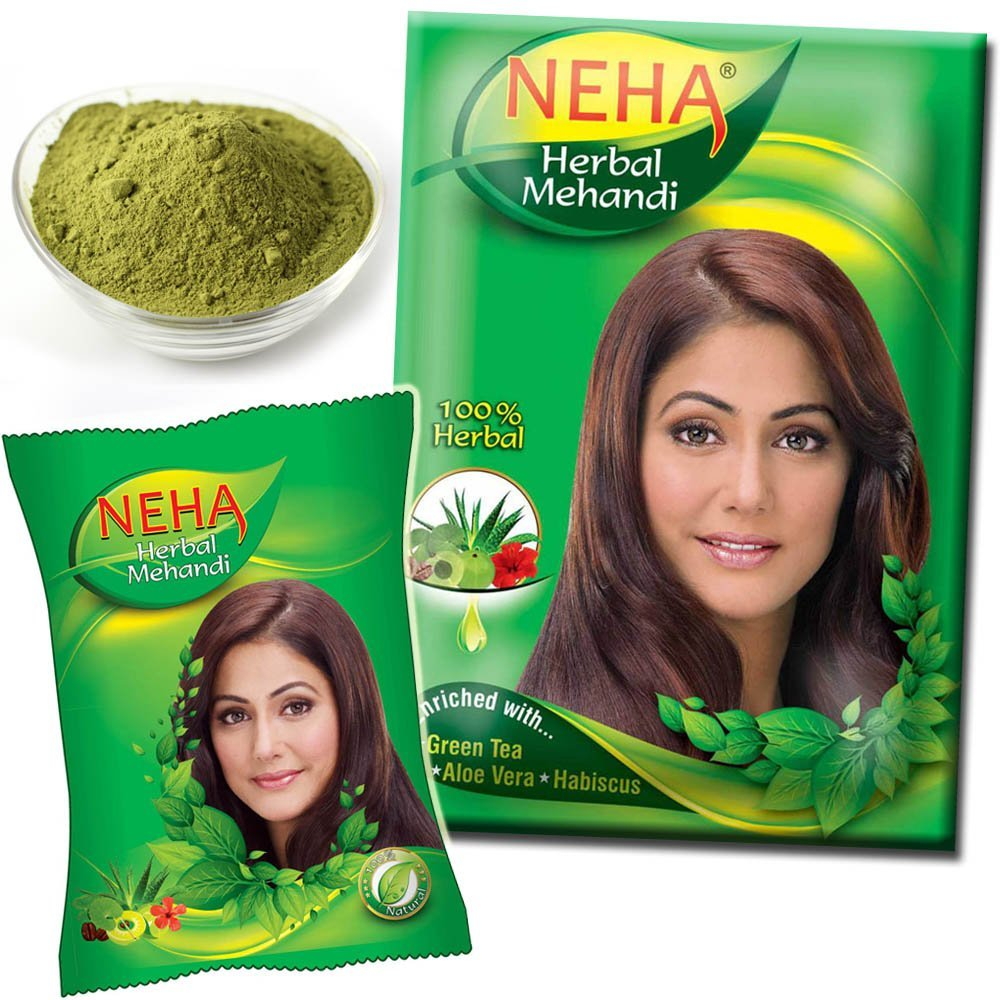 Neha Henna Herbal Powder ( Mehandi for Hair & Hand ) [ 140 gm ]
