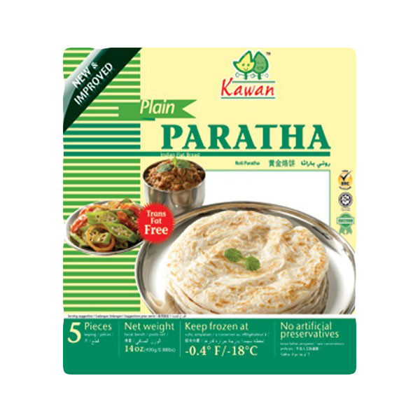 Kawan Plain Paratha Frozen 5 piece