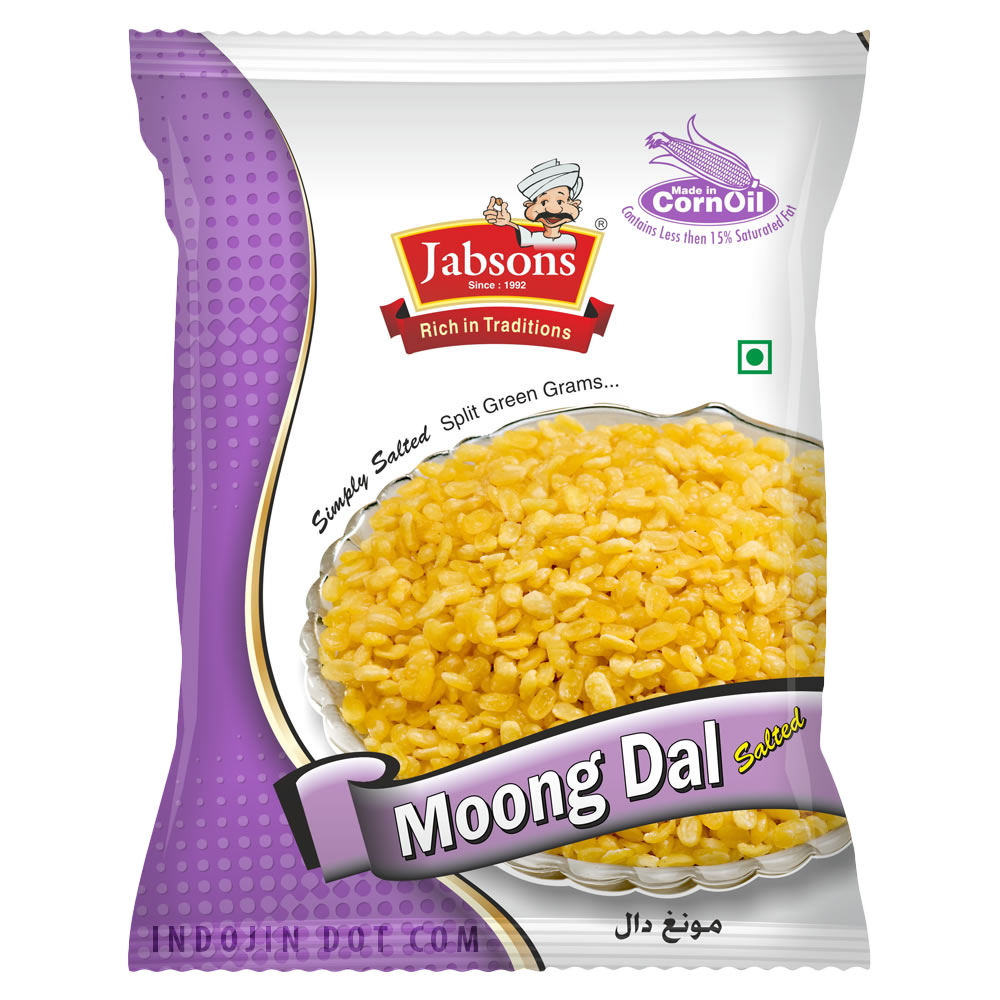 Jabsons : Moong Dal Namkeen [ 140 gm ] - Click Image to Close