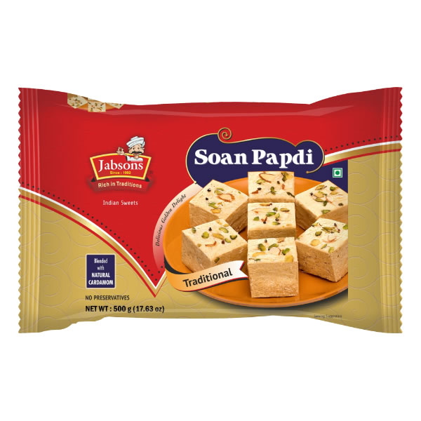 Jabsons : Soan Papdi Traditional [ 250 gm ]