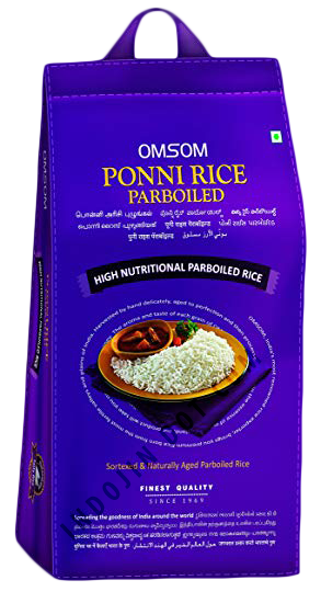 Omsum : Special Poni Boiled Rice [ 1 kg ] Plain Packaging
