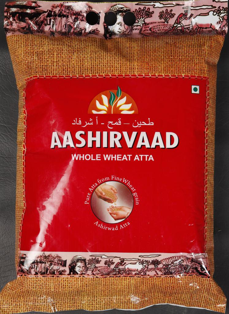 NEPAL Ashirvaad Whole Wheat Atta 2kg