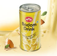 (6 Cans Set) MTR : Badam Drink 180 ml x 6 cans