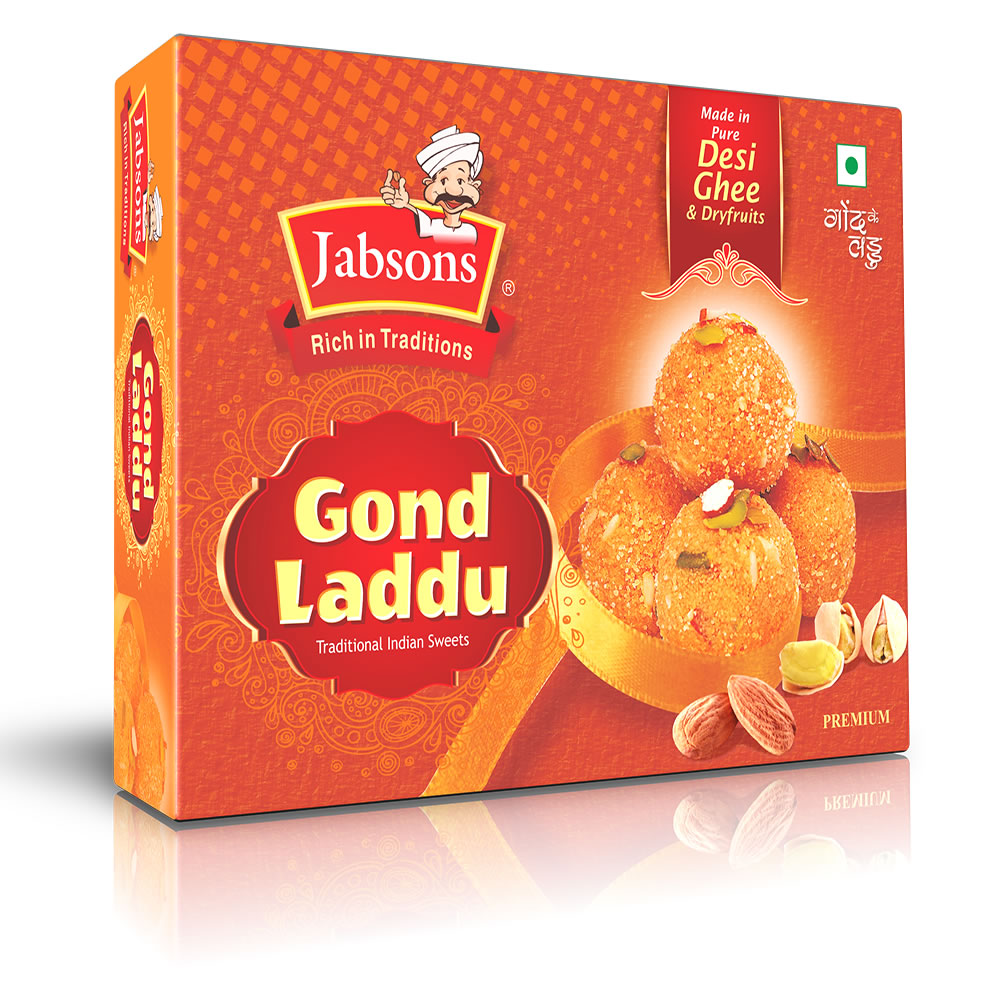 Jabsons : Gond Laddu [ 250 gm ]