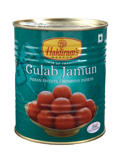 Haldiram's Nagpur : Gulab Jamun 1 kg - Click Image to Close