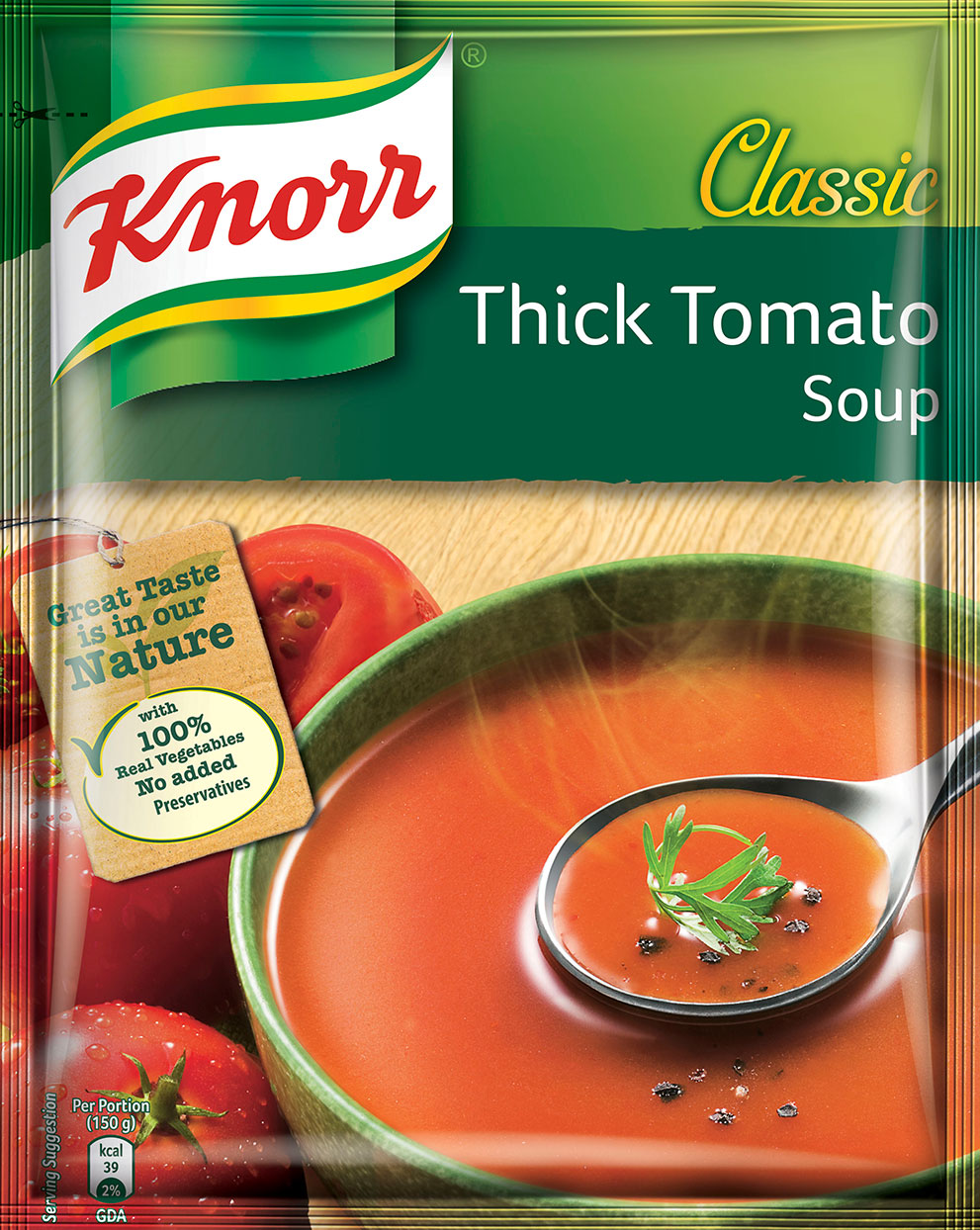 Knorr Thick Tomato Soup 53g