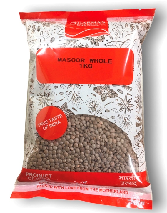 SHARMA'S Masoor Whole (INDIAN)[ 1 kg ]