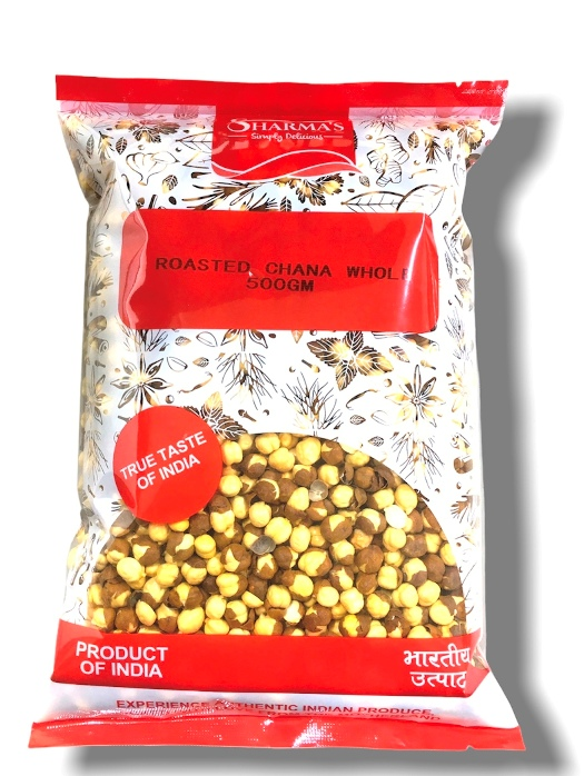 SHARMA'S Roasted Chana Dal ( Whole ) 500 gm