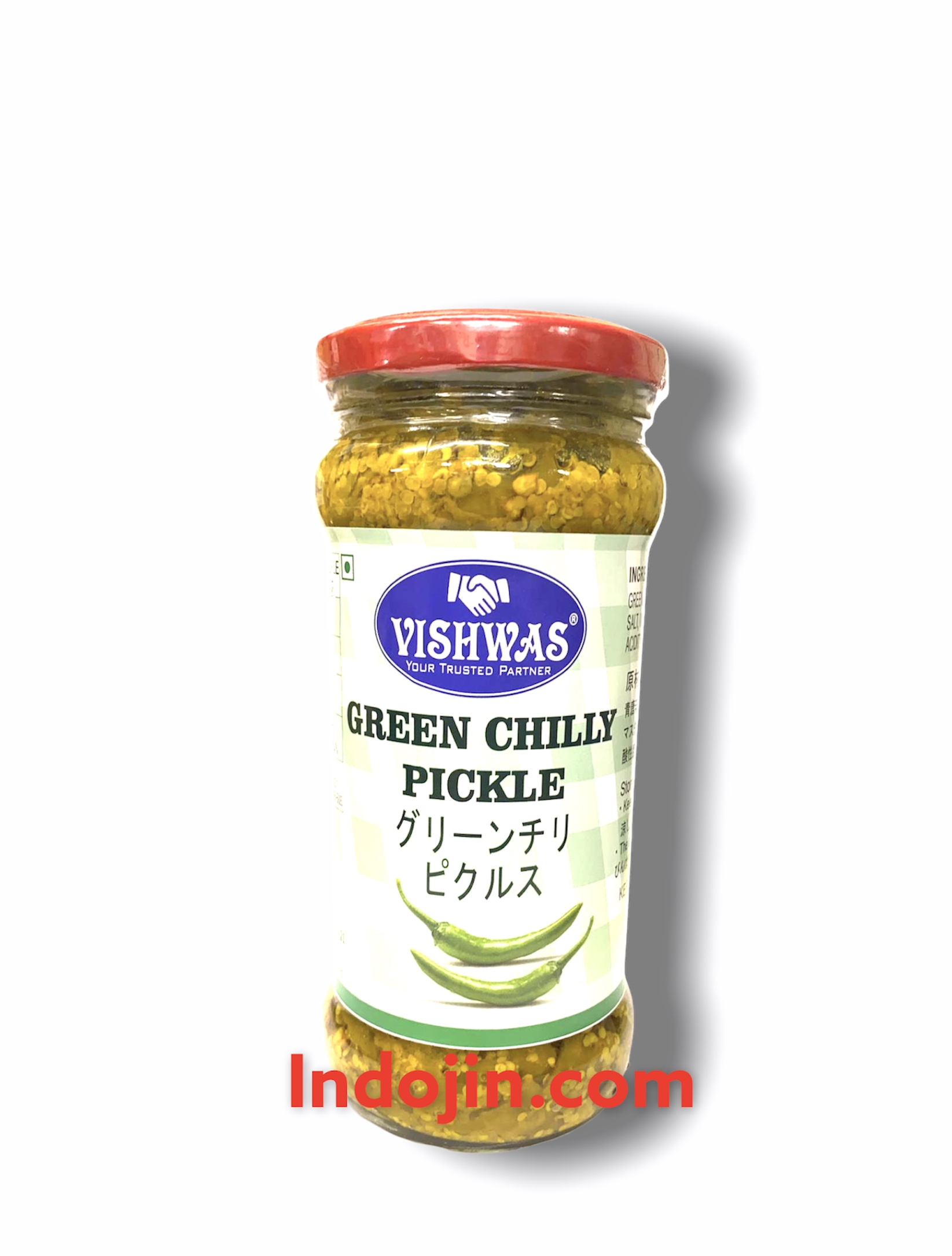 Vishwas Green Chilli Pickle 400g