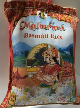 Maharani Indian Basmati Rice 5kg