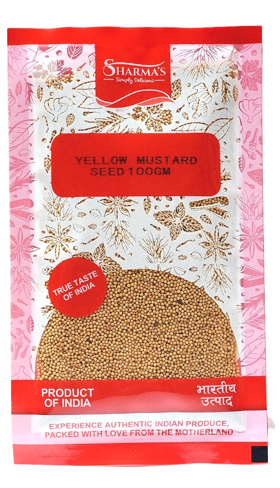 SHARMA'S Yellow Mustard Seeds 100 gm