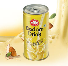 MTR : Badam Drink Can 180 ml