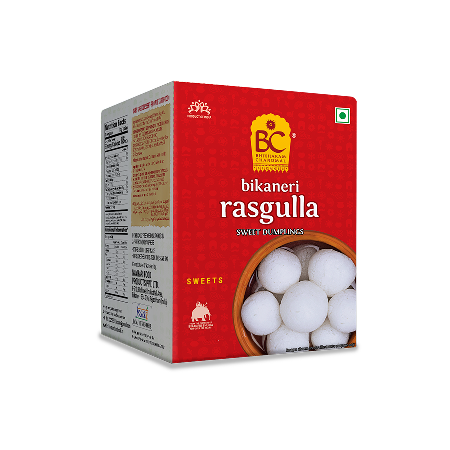 Bhikharam Chandmal Rasgulla 500g - Click Image to Close