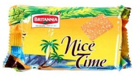Britannia : Nice Time Cookies 80gm