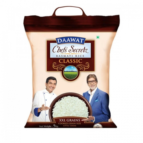 Daawat Indian Classic Basmati Rice 5kg