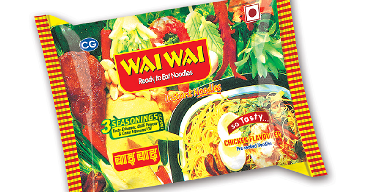 Wai Wai (Chicken flavor) Noodles 65gm