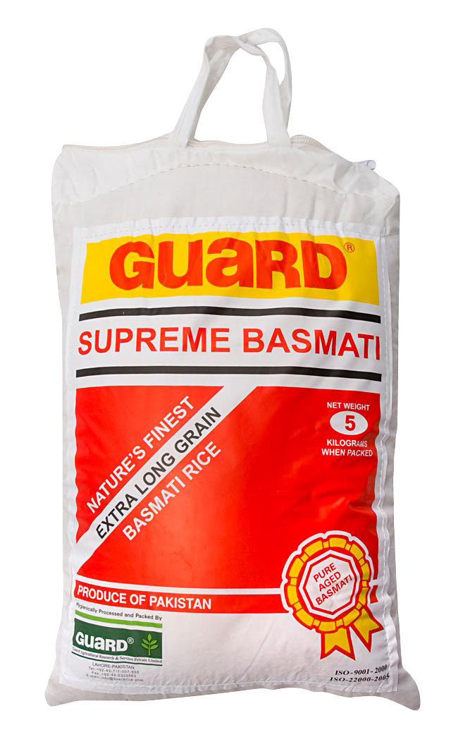 Guard Pakistan Basmati Rice 5 kg
