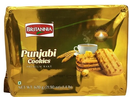 Britannia : Punjabi Cookies 620g Best before July 2021