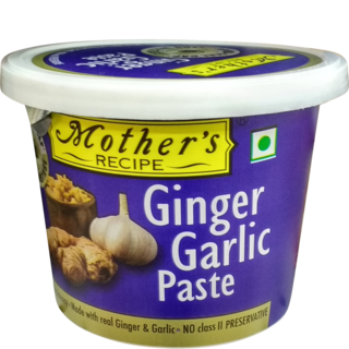 Mother's : Ginger & Garlic Paste [ 300 gm ]