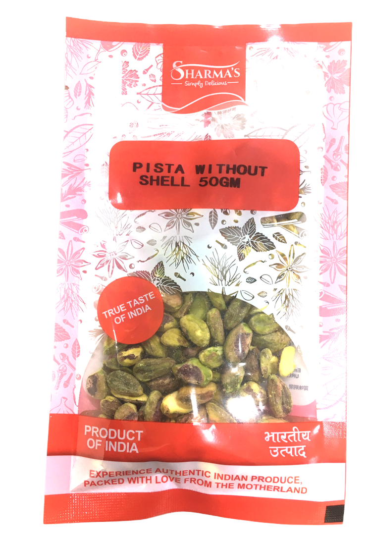 SHARMA'S Pista Without Shell 50G