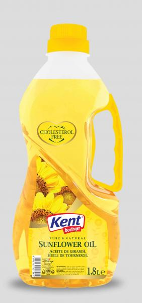 Kent : Sunflower Oil [ 1.8 ltr ]