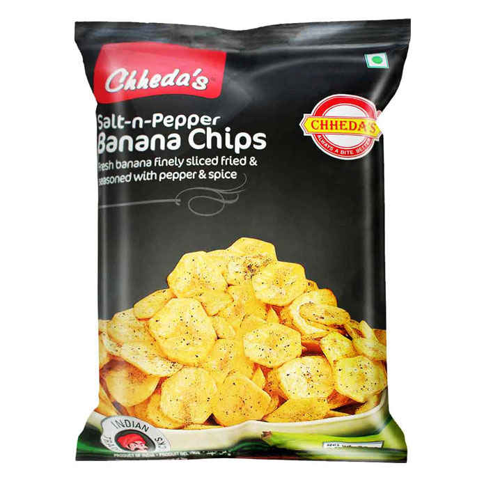 Chheda's Salt N Pepper Banana Chips 170gm